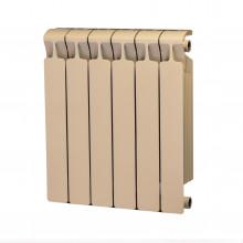 Биметаллический радиатор Rifar Monolit 500, 6 секций Айвори