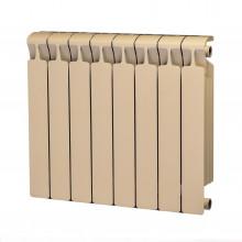 Биметаллический радиатор Rifar Monolit 500, 8 секций Айвори