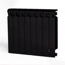 Биметаллический радиатор Rifar Monolit 500, 8 секций Антрацит