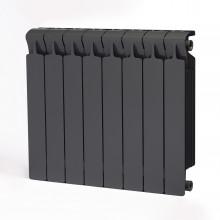 Биметаллический радиатор Rifar Monolit 500, 8 секций Титан