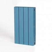 Биметаллический радиатор Rifar Supremo 500, 4 секции,Сапфир