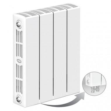 Биметаллический радиатор Rifar Supremo Ventil 350, 4 секции, с нижним подключением