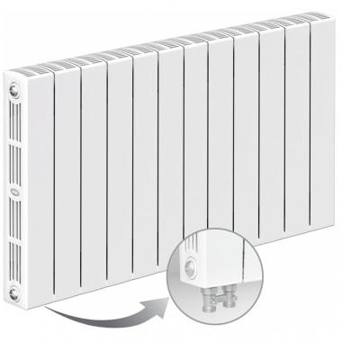 Биметаллический радиатор Rifar Supremo Ventil 500, 12 секций, с нижним подключением