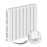 Биметаллический радиатор Rifar Supremo Ventil 500, 8 секций, с нижним правым подключением
