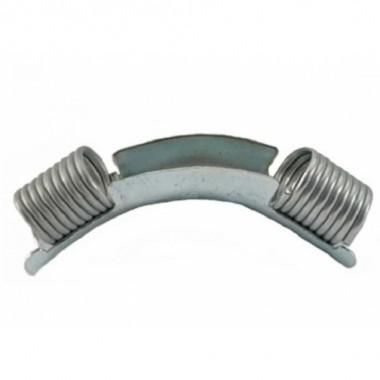 Отвод Rehau (Рехау) направляющий с кольцами, для фиксации поворота трубы 45-32 11389211002