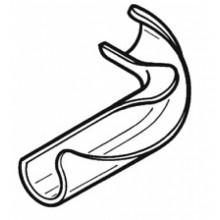 Фиксатор отвода для труб Rehau 16/17 полиамид 239333-001